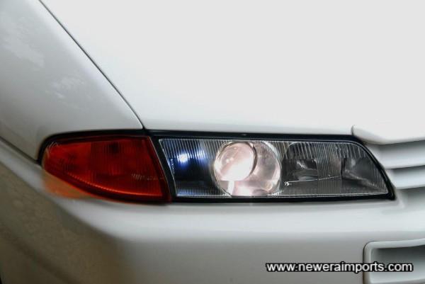 Bellof HID (H4) headlight conversion.