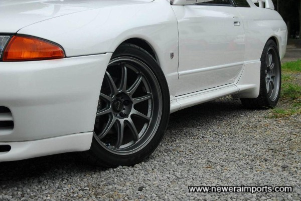 Prodrive GC-010 18'' forged alloy wheels!