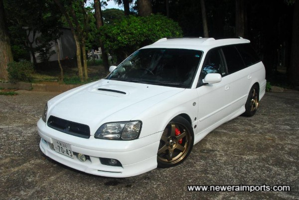 Note the full factory bodykit fitted.