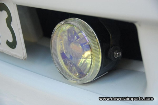 PIAA driving lights fitted.