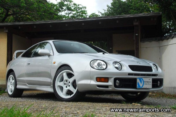 OZ WRC replica wheels set this car off well.