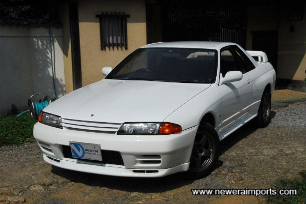 A beautifully preserved original R32 GT-R