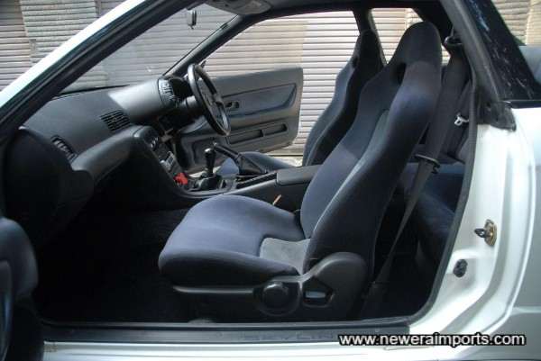 Interior is in excellent condition in keeping with low mileage & careful ownership.