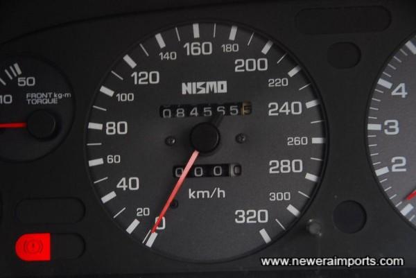 Nismo 320km/h Speedometer.