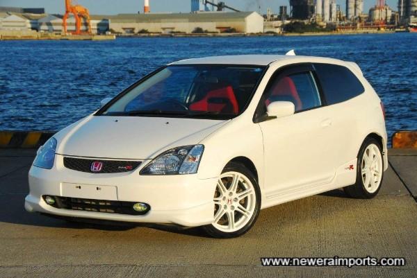 Stunning condition & very rare Civic EP3 JDM spec.