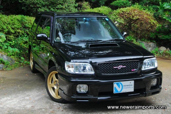 Forester in the forest!