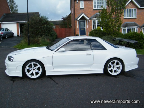 White is the best colour for 324R's!