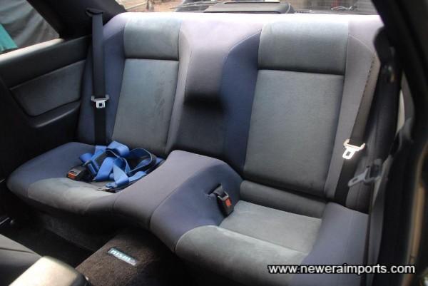 Rear seat.