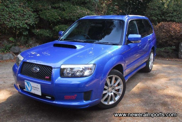 Stunningly well looked after new shape Forester STi!