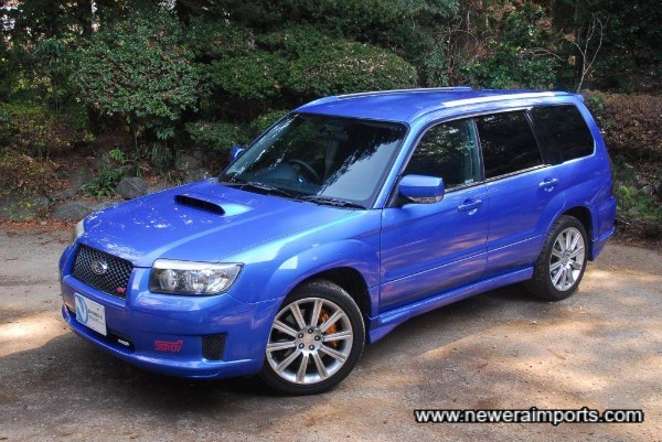 The more we looked at it, the more it grew on us... Forester STi's have this effect, apparently!