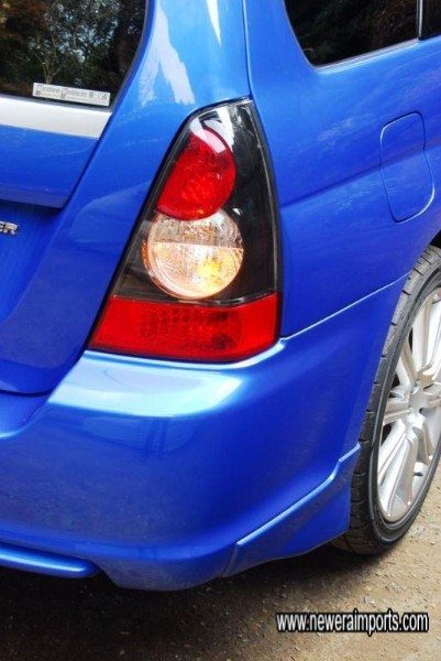 Facelift model's rear lights are also different.