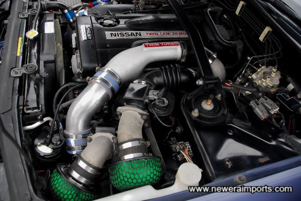 HKS SPF induction kit & hard pipe kit.