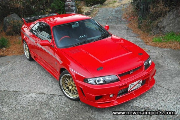 Possibly the world's best R33 GT-R?