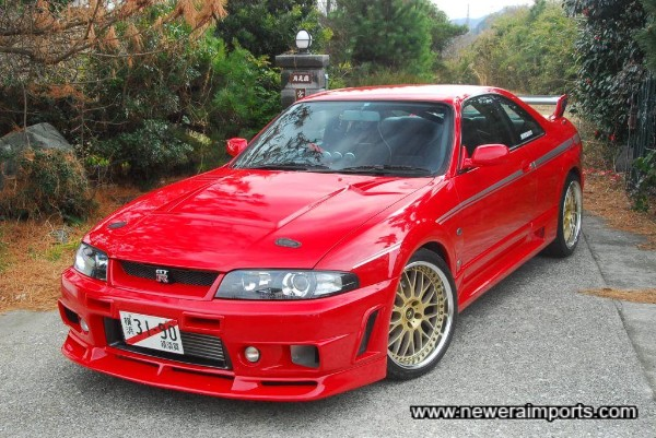 By far the best R33 GT-R we've ever had.