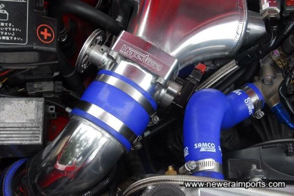 Hypertune 90mm throttle.