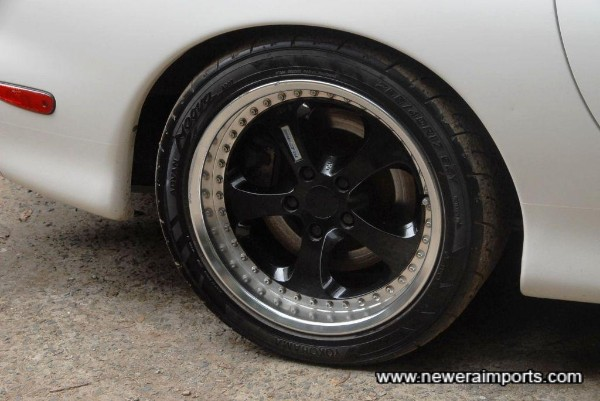 RE-Amemiya 2 piece alloy wheels (Staggered size fitment)