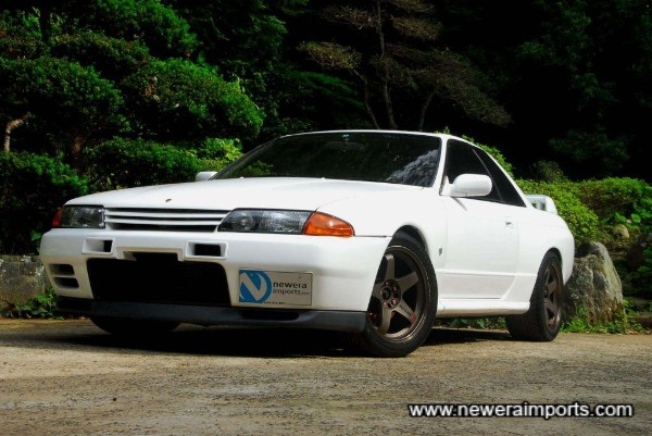 There is absolutely no corrosion on this R32 GT-R, none on the chassis, rear arches, subframes, etc.
