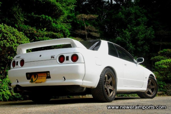 Rare to find R32 GT-R's this clean nowadays.