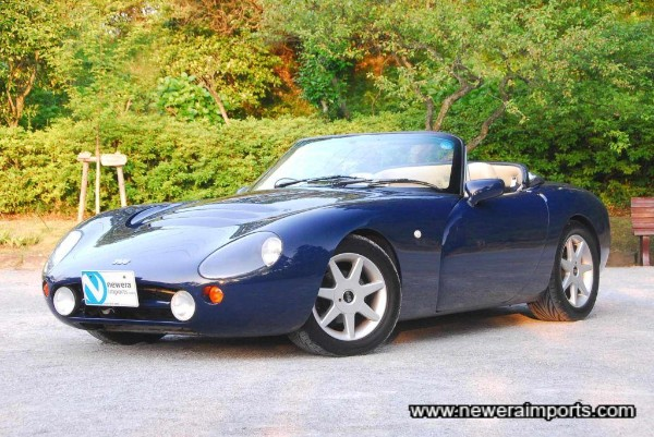 Stunningly preserved low mileage TVR 500 Griffith!