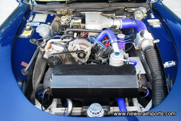 Engine bay is tidily presented with  reliability & aesthetic enhancements.