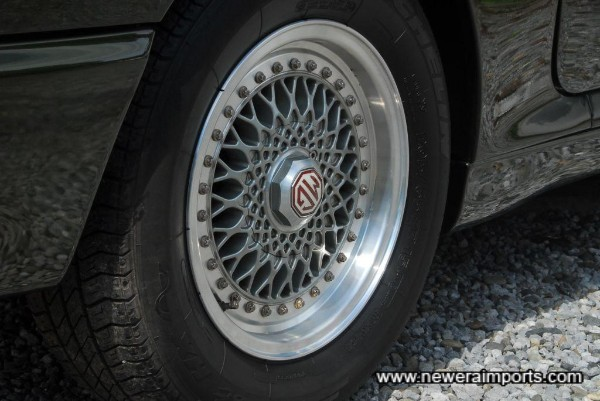 Unusual to find RV8 wheels this nice!
