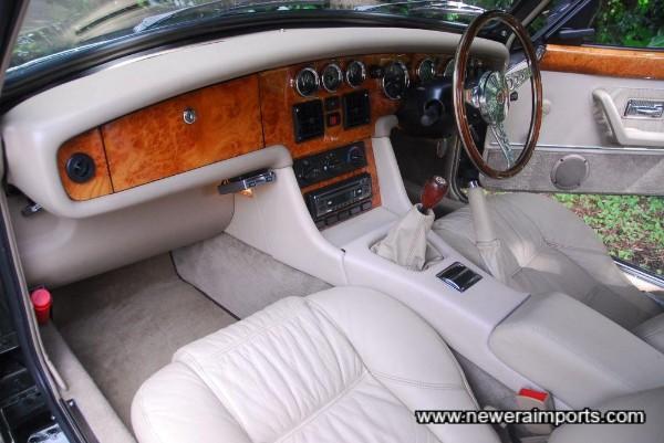 Interior's in excellent condition - all the veneer is in beautiful original condition. No delamination.