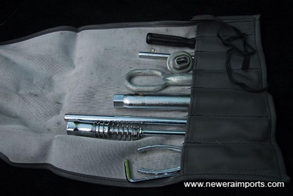 Complete unused tool kit.