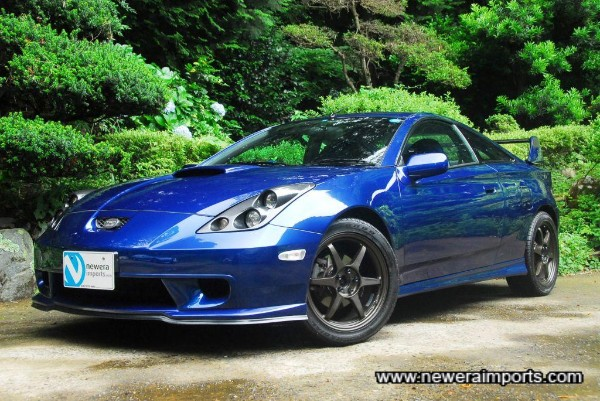 Paint's name is: Storm Blue. Toyota Colour code: 210.