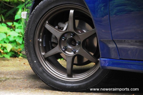 Project Kics R40 Neochro wheel nuts - best choice currently available for quality (In Japan).