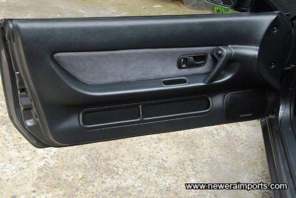 Passenger door trim
