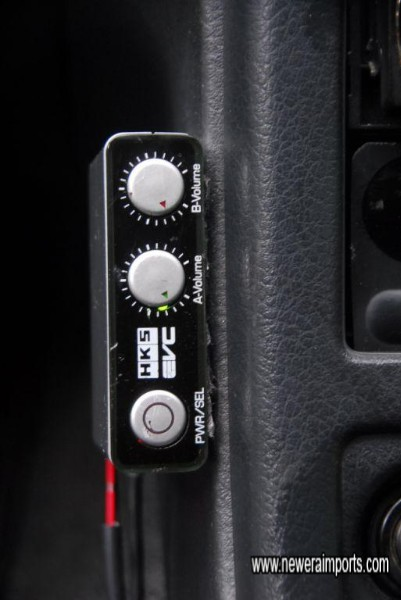 HKS EVC 5 Boost controller.