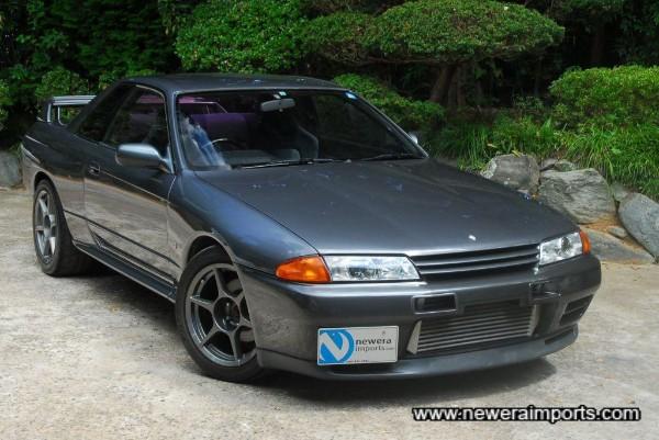 Original Nismo front bumper.