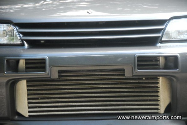 Rare & resirable ARC high performance intercooler.
