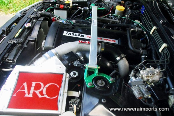 ARC Airbox is very desirable - filters have recently been changed too.