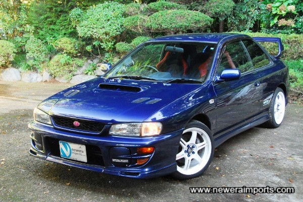 Stunning condition throughout. One of the last Type R Imprezas built by STi.