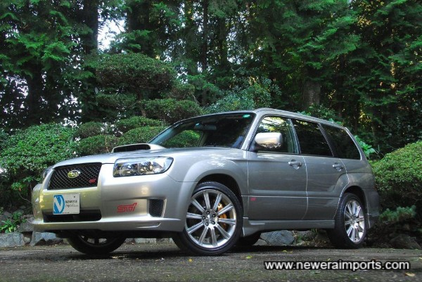 Only the 2nd Forester Sti 2nd Generation facelift model we've found to our standards in Japan.