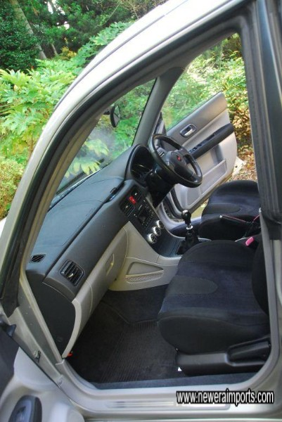 Interior is in excellent condition in keeping with genuine low mileage from new.