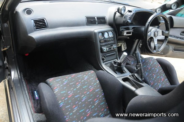 Interior is in excellent condition in keeping with low mileage and care since new.