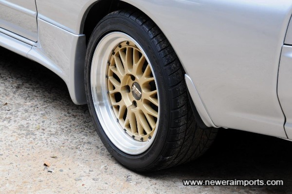 BBS LM's have been fitted since near new.