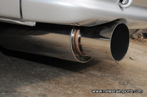 Apexi GT Spec Stainless 304 exhaust