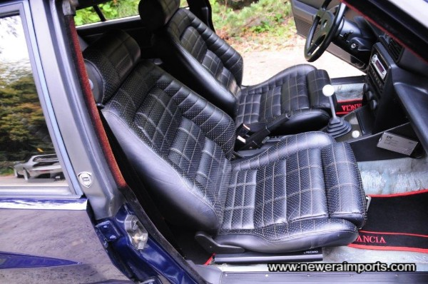 Leather seats are unworn, in keeping with the care & attention this car has had since new.