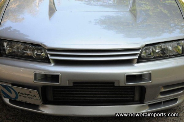 Varis, Nismo bumper ducts and N1 headlights (With HID conversion).