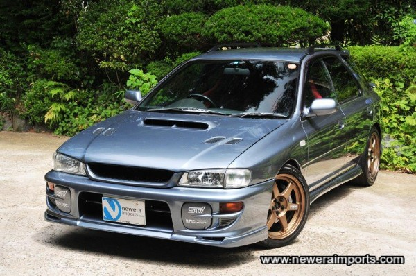 One of the very best Impreza Sgi wagons we've seen in Japan in the last few years!