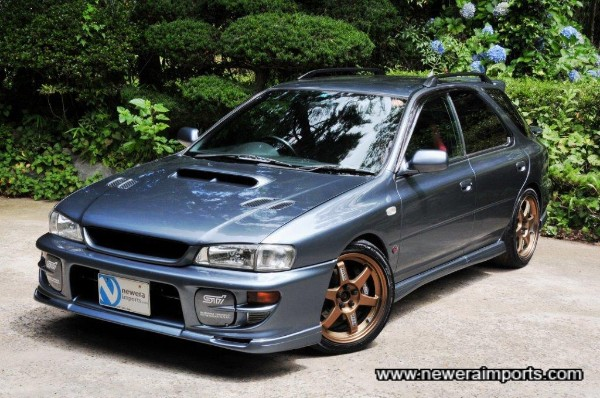 One of the best colours for classic Imprezas - very rare too.