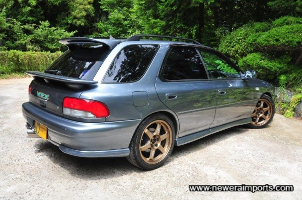 The classic Impreza has aged well. A true modern classic.