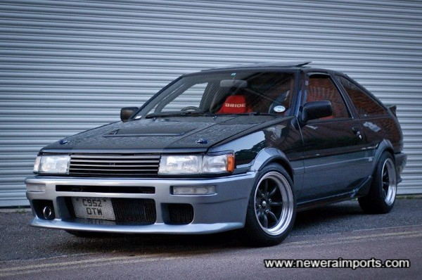 Recent picture - The world's best roadgoing AE86. Without a doubt.