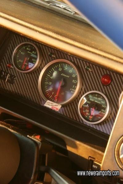 Fuel gauge works of course!