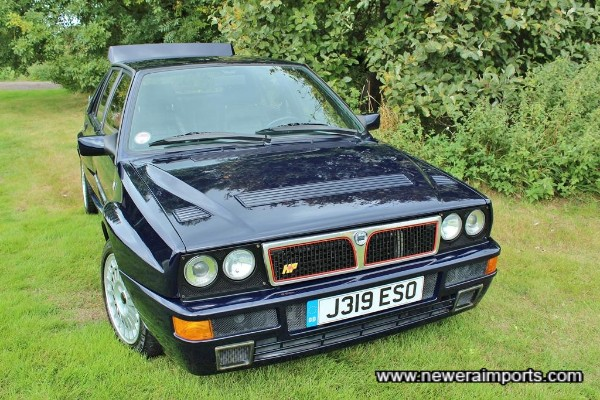 This must surely be the best Delta Integrale Evo currently for sale in Europe.