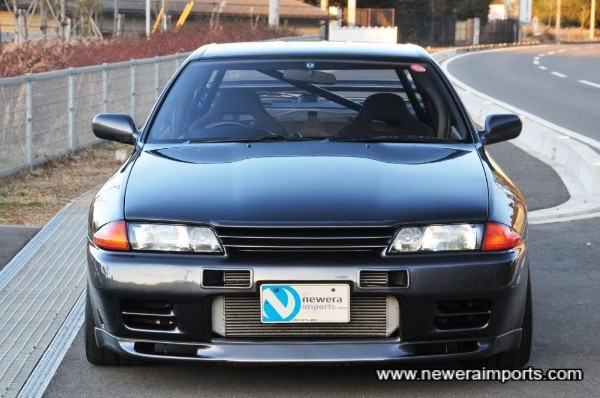 N1 headlights are a recent fitted addition (expensive items from Nissan)!