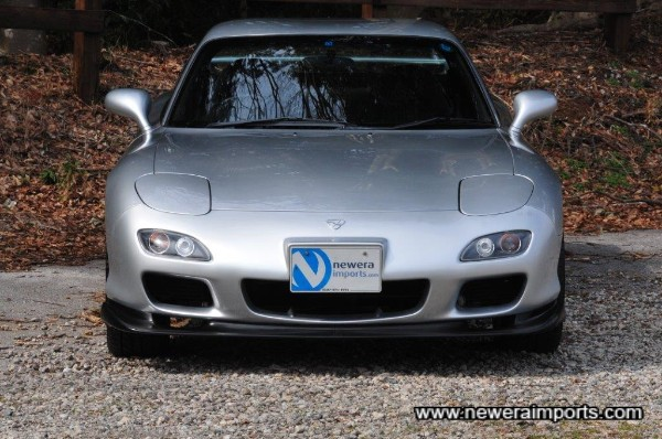 1999 + front bumper assembly really suits the RX-7 we feel.